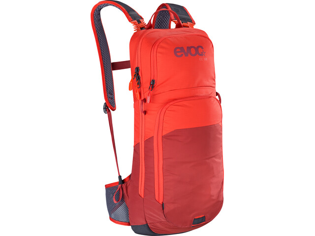 EVOC CC Lite Performance Backpack 10l, orange/chili red